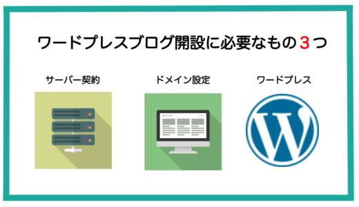 ワードプレス(Word Press)ブログを始める方法をステップで解説します